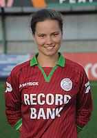 Dames SV Zulte Waregem :<br /> Athina Vercaemer<br /> foto VDB / BART VANDENBROUCKE