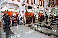 Yogyakarta, Java, Indonesia.  Lobby of Main Post Office.