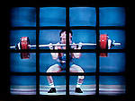 1988 Olympic Weightlifter on TV