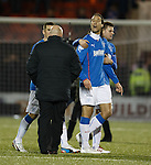 Bilel Mohsni challenges Airdrie manager Gary Bollan