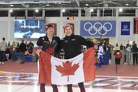 SPEEDSKATING: 14-02-2020, Utah Olympic Oval, ISU World Single Distances Speed Skating Championship, 10.000m Men, Ted-Jan Bloemen (CAN), Graeme Fish (CAN), World record 12:33.868, ©Martin de Jong
