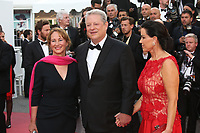 SEGOLENE ROYAL, AL GORE AND HIS WIFE - RED CARPET OF THE FILM 'THE KILLING OF A SACRED DEER' AT THE 70TH FESTIVAL OF CANNES 2017 . CANNES, FRANCE, 22/05/2017. # 70EME FESTIVAL DE CANNES - RED CARPET 'MISE A MORT DU CERF SACRE'