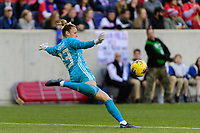 HARRISON, NJ - MARCH 08: Sandra Panos #13 of Spain during a game between Spain and USWNT at Red Bull Arena on March 08, 2020 in Harrison, New Jersey.