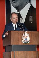 Pierre Trudeau, le 5 decembre 1982<br /> <br /> PHOTO : Agence Quebec Presse