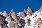 Rock outcrops, peaks and ridges. Area around Hemis Shukpachen, Ulley Valley, Ladakh, India