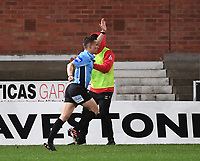 26th March 2021; Kingsholm Stadium, Gloucester, Gloucestershire, England; English Premiership Rugby, Gloucester versus Exeter Chiefs; Referee Luke Pearce awards Gloucester a penalty try in the last play of the match with Gloucester winning 34-18