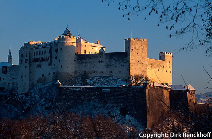Festung in Salzburg, Österreich