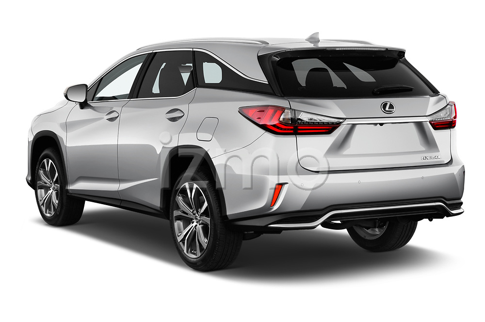 Car pictures of rear three quarter view of 2019 Lexus RX 350L-4x2 5 Door SUV Angular Rear