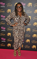 """Chizzy Akudolu at the """"Tina: The Tina Turner Musical"""" Refuge gala performance, Aldwych Theatre, Aldwych, on Sunday 10th October 2021, in London, England, UK. <br /> CAP/CAN<br /> ©CAN/Capital Pictures"""