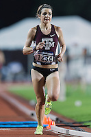 Grace Fletcher of Texas A&M competes in 10000 meter semifinal during West Preliminary Track and Field Championships, Friday, May 29, 2015 in Austin, Tex. (Mo Khursheed/TFV Media via AP Images)