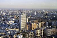 - Milan, panorama of the city with skyscraper of Republic square....- Milano, panorama della città con il grattacielo di piazza Repubblica