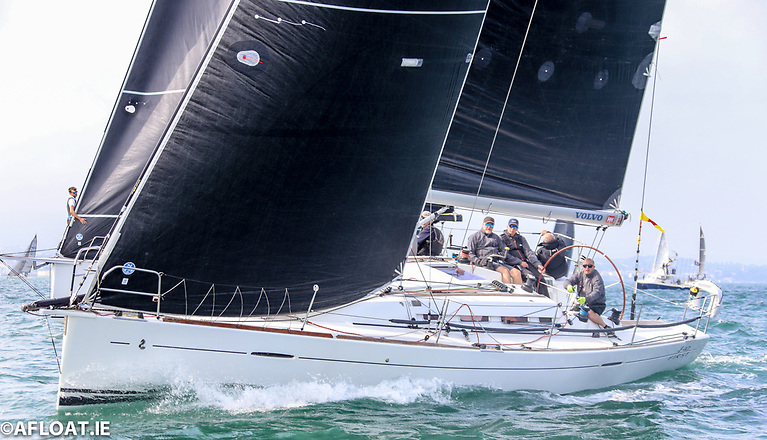 Jay Colville's Forty Licks from the Royal Ulster Yacht Club is second overall