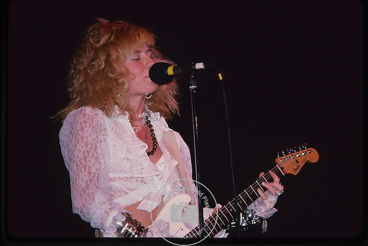 Paula Pierce of The Pandoras - Los Angeles 1986