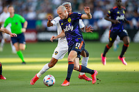 CARSON, CA - JUNE 19: Brad Smith #11 of Seattle Sounders FC moves with the ball during a game between Seattle Sounders FC and Los Angeles Galaxy at Dignity Health Sports Park on June 19, 2021 in Carson, California.