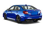Car pictures of rear three quarter view of a 2015 Subaru Wrx - 4 Door Sedan 2WD Angular Rear