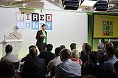 Yoni Assia, eToro.  Wired Money fintech event, Level39, Canary Wharf.