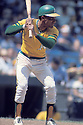 Oakland A's Bert Campaneris (19) in action during a game from his 8 years with the Oakland A's. Bert Campaneris played for 19 years for 5 different teams.