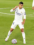 Real Madrid's Carlos Henrique Casemiro during UEFA Champions League match. October 20,2020.(ALTERPHOTOS/Acero)
