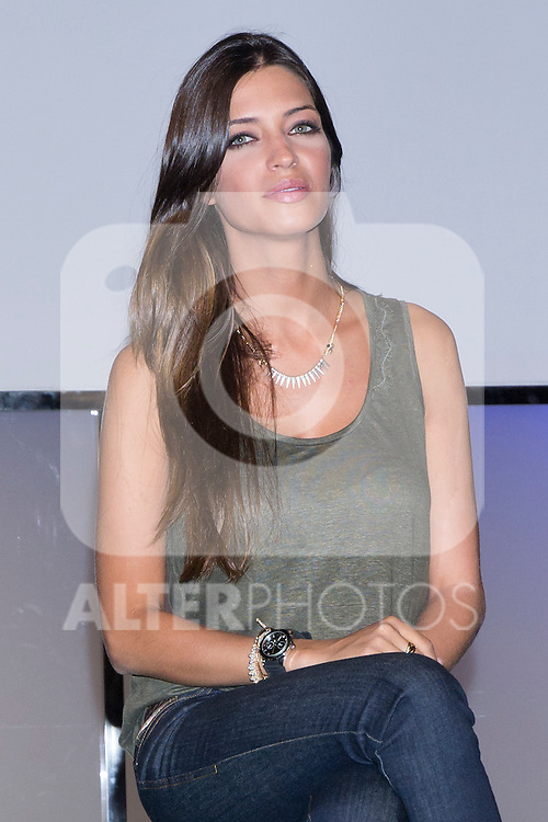 01.06.2012. Telecinco presents its official schedule for the transmission of Eurocup 2012 to the Ciudad del Futbol of Las Rozas, Madrid. In the image Sara Carbonero  (Alterphotos/Marta Gonzalez)