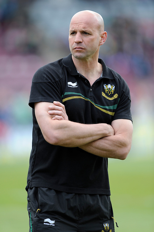 Jim Mallinder, Northampton Saints Director of Rugby, during the Aviva Premiership match between Harlequins and Northampton Saints at the Twickenham Stoop on Saturday 4th May 2013 (Photo by Rob Munro)