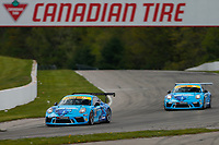 Porsche GT3 Cup Challenge Canada<br /> Victoria Day SpeedFest Weekend<br /> Canadian Tire Motorsport Park, Mosport, ON CAN<br /> Sunday 21 May 2017<br /> 83, Maxwell Tullman, GT3CP, CAN, 2017 Porsche 991<br /> World Copyright: Jake Galstad<br /> LAT Images<br /> ref: Digital Image galstad-CTMP-0517-56021