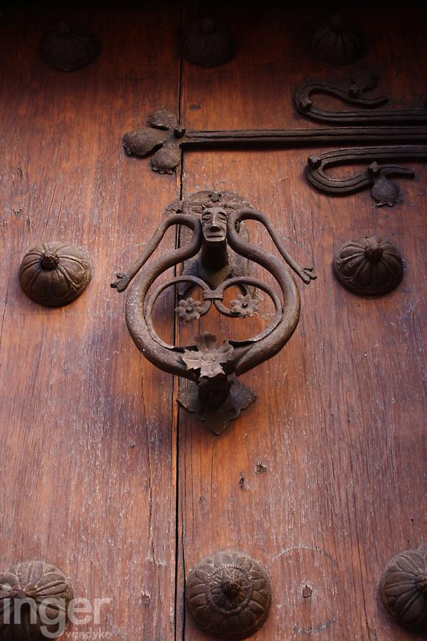 Wooden Door at Toledo in Spain
