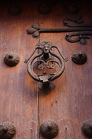 Wooden Door at Toledo in Spain