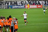 São Paulo (SP), 16/11/2020 - Corinthians-Palmeiras - Poliana comemora o gol do Corinthians. Corinthians e Palmeiras jogo válido pelo Campeonato Brasileiro Feminino, segundo jogo da semifinal do Brasileiro Feminino, segunda-feira (16), na Neo Química Arena em São Paulo-SP.