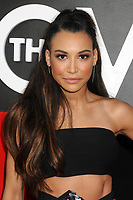 "13 July 2020 - Naya Rivera, the actress best known for playing cheerleader Santana Lopez on Glee, has been confirmed dead. Rivera, 33, is believed to have drowned while swimming in the lake with her 4-year-old son, who was found asleep on their rental pontoon boat after it was overdue for return. 20 May 2013 - Los Angeles, California - Naya Rivera. ""The Hangover Part III"" Los Angeles Premiere held at the Westwood Village Theater. Photo Credit: Byron Purvis/AdMedia"