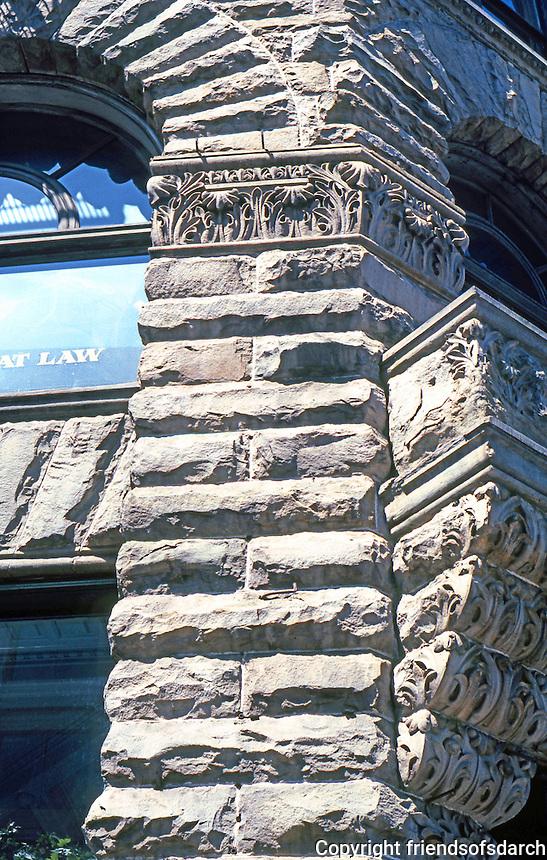 Seattle: Yesler Building--detail. Elmer Fisher.