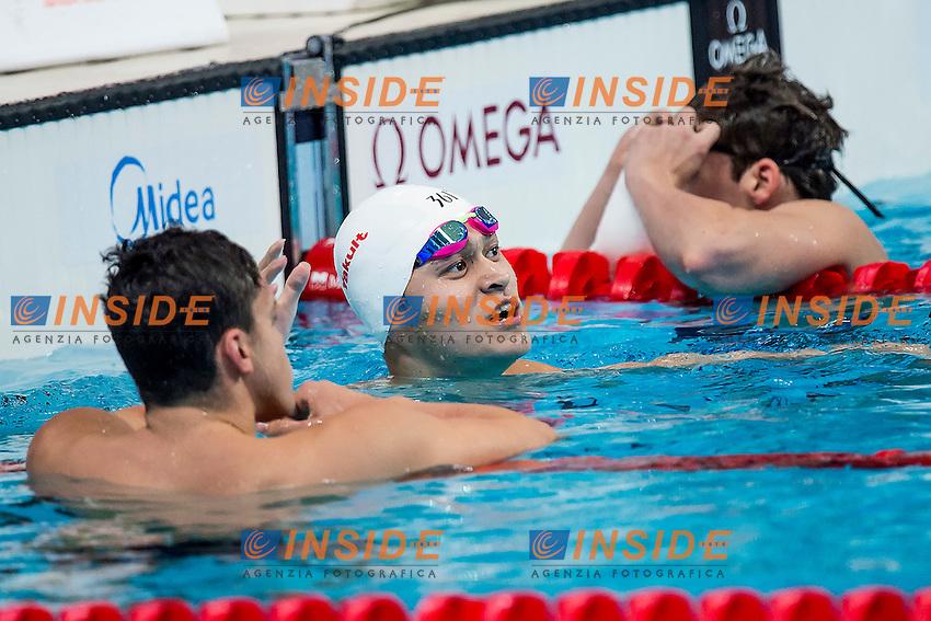YANG Sun CHN<br /> 400 Freestyle Men Heats<br /> Swimming - Kazan Arena<br /> Day10 02/08/2015<br /> XVI FINA World Championships Aquatics Swimming<br /> Kazan Tatarstan RUS July 24 - Aug. 9 2015 <br /> Photo A.Masini/Deepbluemedia/Insidefoto