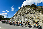 The peloton take it easy during Stage 5 of Tour de France 2020, running 183km from Gap to Privas, France. 2nd September 2020.<br /> Picture: ASO/Alex Broadway   Cyclefile<br /> All photos usage must carry mandatory copyright credit (© Cyclefile   ASO/Alex Broadway)
