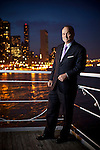NEW YORK - MAY 19, 2011:  NYPD Police Commissioner Raymond Kelly poses for a portrait on the deck of the Water Club on May 19, 2011 in New York City.  (PHOTOGRAPH BY MICHAEL NAGLE)