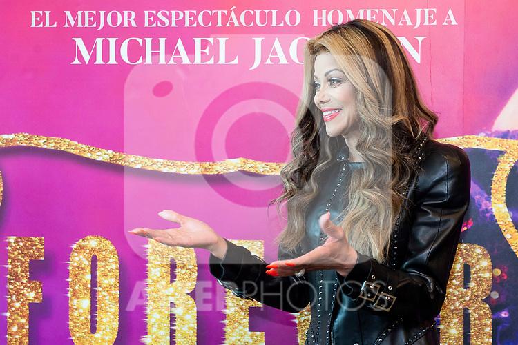 Michael Jackson sister, La Toya Jackson during meeting with press in Madrid, Spain. May 21, 2018. (ALTERPHOTOS/Borja B.Hojas)