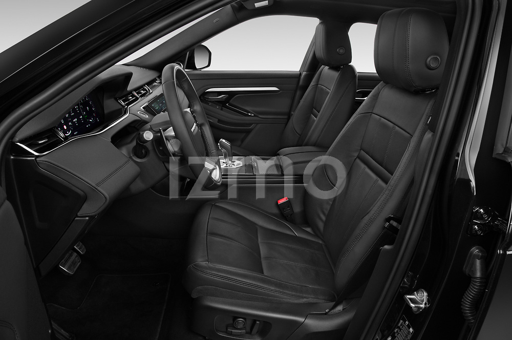 Front seat view of 2021 Land Rover Range-Rover-Evoque R-Dynamic 5 Door SUV Front Seat  car photos
