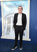 """WEST HOLLYWOOD - SEPT 1: Patrick Fischler attends a red carpet event for FX's """"Impeachment: American Crime Story"""" at Pacific Deisgn Center on September 1, 2021 in West Hollywood, California. (Photo by Frank Micelotta/FX/PictureGroup)"""