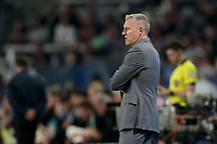 CARSON, CA - SEPTEMBER 15: Sporting Kansas City head coach Peter Vermes during a game between Sporting Kansas City and Los Angeles Galaxy at Dignity Health Sports Complex on September 15, 2019 in Carson, California.