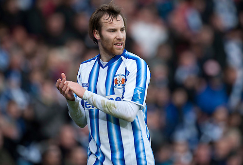 GLASGOW, SCOTLAND - JANUARY 28:  Kilmarnpck's James Dayton during the Scottish Communities Cup Semi Final match between Ayr United and Kilmarnock at Hampden Park on January 28, 2012 in Glasgow, United Kingdom. (Photo by Rob Casey/Getty Images).