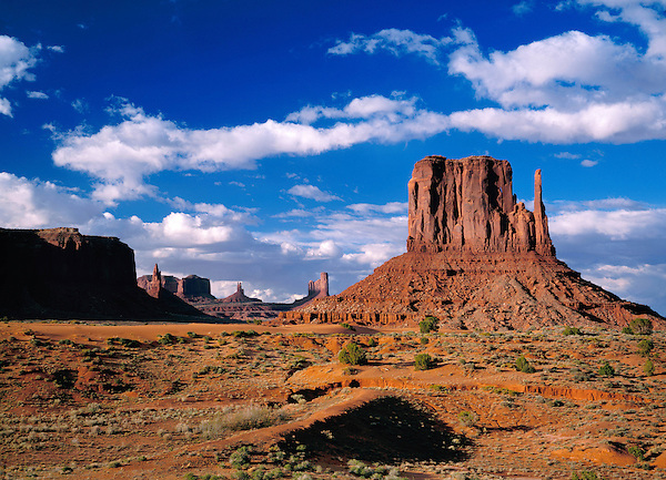 The Mittens rock formation in Monument Valley Park, Arizona, USA. . John offers private photo tours in Monument Valley and throughout Arizona, Utah and Colorado. Year-round.