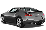 Rear three quarter view of a 2009 Nissan 370 Z Touring Coupe