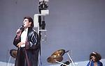 Tony Hadley of Spandau Ballet at Live Aid 1985