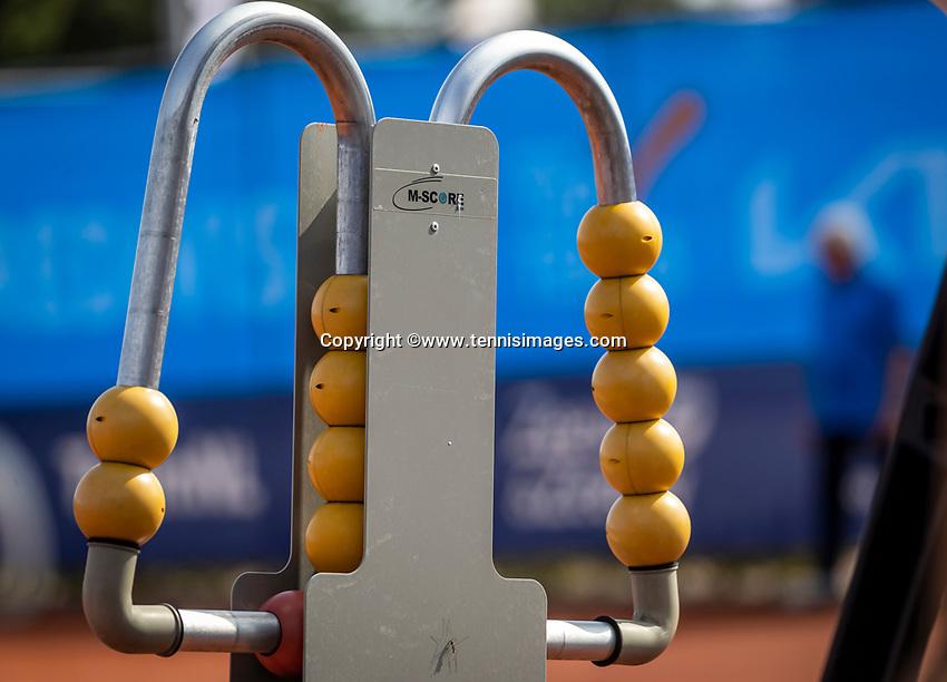Netherlands, September 12,  2021, Naaldwijk KIA Competition mixed, premier league, LTC Naaldwijk vs TC Leimonias, womans single:  score<br /> Photo: Henk Koster/tennisimages.com