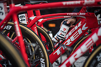 getting the bikes race-ready<br /> <br /> 103rd Liège-Bastogne-Liège 2017 (1.UWT)<br /> One Day Race: Liège › Ans (258km)