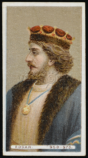 ENGLISH ROYALTY  Edgar the Peaceable King of England / Not Known / REIGNED 957 - 975