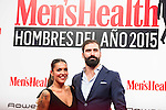 Lorena Castells and Jorge Cremades attends to the delivery of the Men'sHealth awards at Goya Theatre in Madrid, January 28, 2016.<br /> (ALTERPHOTOS/BorjaB.Hojas)