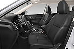 Front seat view of a 2014 Nissan X-TRAIL Tenka 5 Door SUV 2WD Front Seat car photos