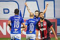 BELO HORIZONTE (MG) - 11/09/2020 - CRUZEIRO-VITORIA - Gol de Regis - Partida entre Cruzeiro e Vitoria, válida pela 9ª rodada do Campeonato Brasileiro da série B 2020, realizada no Estadio Mineirão, na cidade de Belo Horizonte, nesta sexta feira (11)