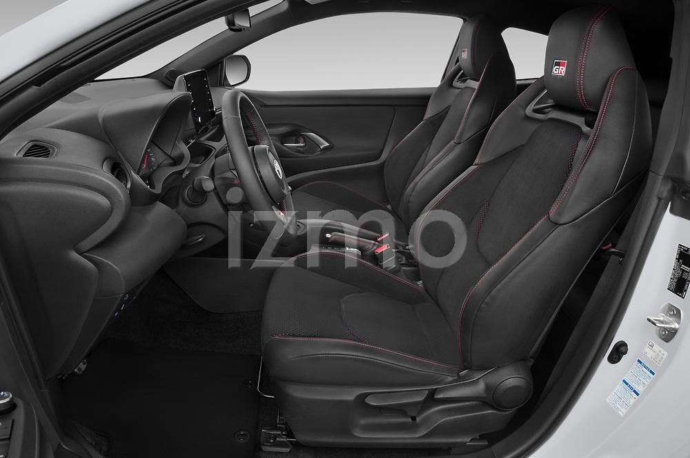 Front seat view of 2021 Toyota Yaris GR 3 Door Hatchback Front Seat  car photos