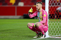 Bristol City goalkeeper, Daniel Bentley during Brentford vs Bristol City, Sky Bet EFL Championship Football at the Brentford Community Stadium on 3rd February 2021