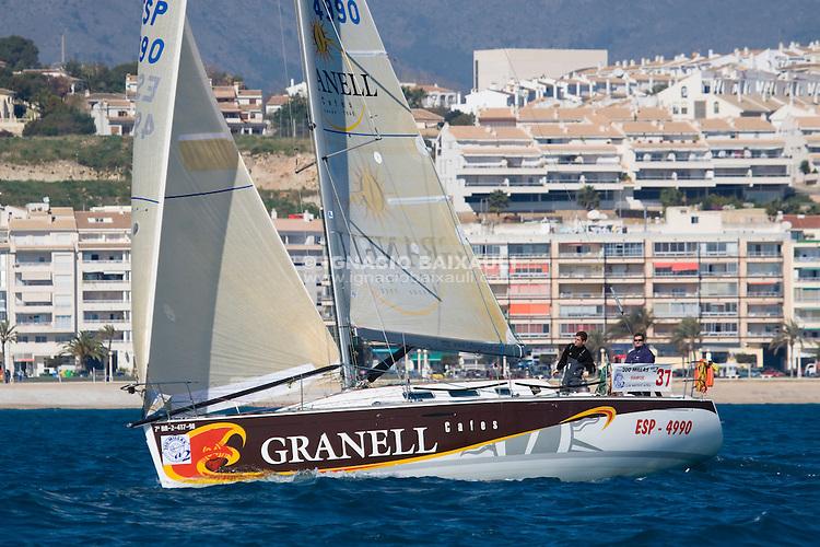 37  .Esp 4990  .Granell  .Agustin Granell  .Francisco Perez-Jorge  .RCN Valencia  .First 40.7 .XXII Trofeo 200 millas a dos - Club Náutico de Altea - Alicante - Spain - 22/2/2008